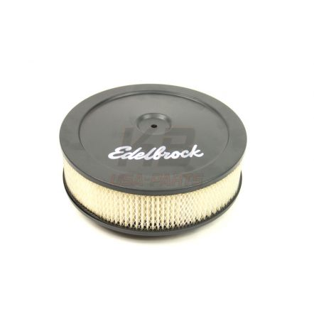 EDELBROCK 1203XL 10X2.8 INCH LUCHT-FIlTER ZWART