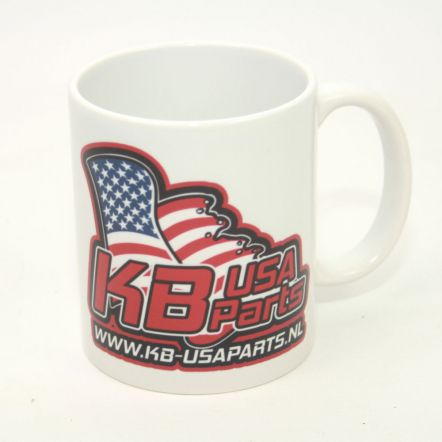 KB USA-Parts logo 11OZ MOK