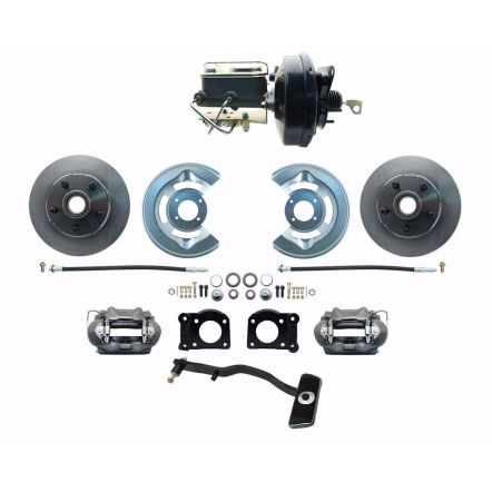 MBM 1967-69 Ford Mustang OE Style Power Disc Brake Conversion Kit Automatics Only