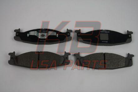 Ac-delco 14D632MX Semi Metallic