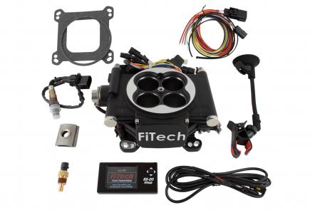 30002 | Go EFI 4 600HP System  Matte Black