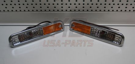 Side marker set blank 37-7408 chevrolet pick-up c/k 10/20/30 1973-`79