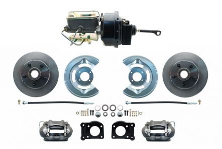 MBM 1964.5-1966 Ford Mustang Front Power Disc Brake Conversion