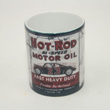 Hot-Rod Motor Oil 11OZ Mok