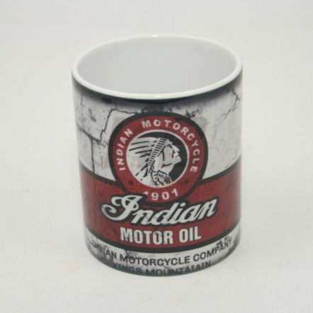 Indian Motor Oil 11OZ Mok