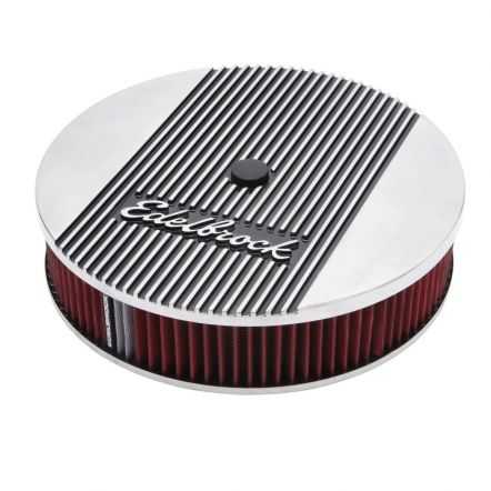 4266 | Edelbrock Elite 2 aluminium  Lucht filter 14 inch x 3 inch