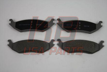 Ac-Delco 14D967M Semi-Metallic