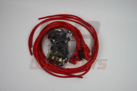4041R   Accel 8mm red  Haaks / Haaks 90°
