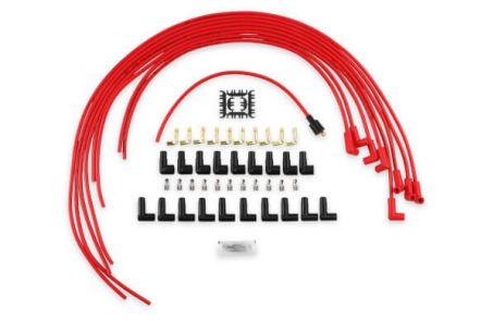4041R | Accel 8mm red  Haaks / Haaks 90°
