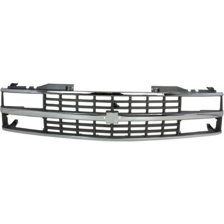 900-99-5 | Grill chevy/gmc C -K 1500 2500 3500 1988-`93 chrome grijs