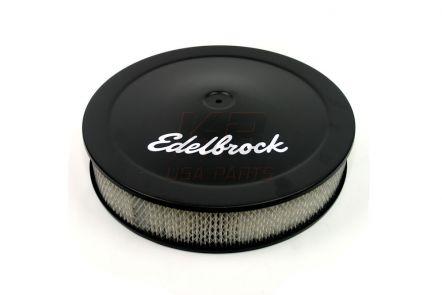 1223 | Edelbrock® Lucht-filter zwart 14x3 inch