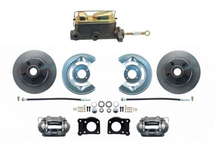 MBM DBK6469-MC7161M - 1964.5 / 1969 Manual Mustang Disc Brake Conversion Kit