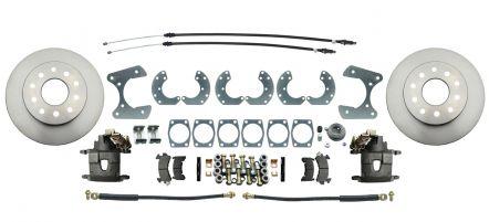 "MBM Universal Ford 8.8"" & 9"" Rear-End Universal Disc Brake Kit"