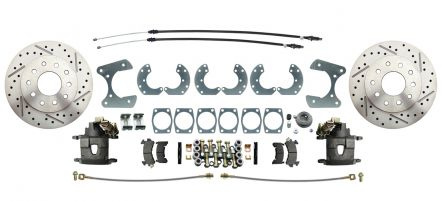 "MBM Universal Ford 8.8"" & 9"" Rear-End High Performance Disc Brake Kit"