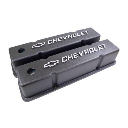 R-6336   RPC® Aluminium zwart chevrolet bowtie + test hoog model