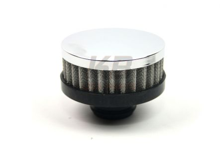 R-7192 | RPC chrome push in breather filter 31mm