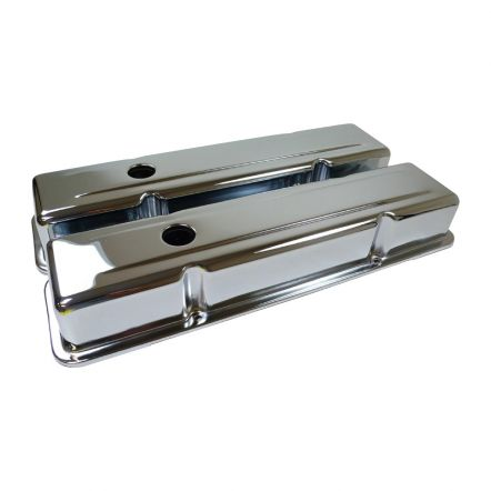 R-9216   RPC chrome klepdeksel set chevy small-block 283-305-327-350-383
