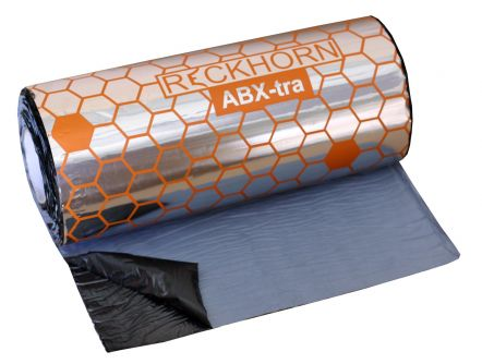 RECKHORN ABX X-tra 40X625CM(2,5M2) ZELFKLEVENDE BITUM ONTDREUNING 2,5MM DIK MET ALUMINIUM TOPLAAG