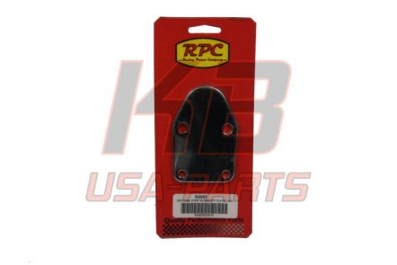 R-2057   RPC SBC brandstof pomp afdek plaatje chrome