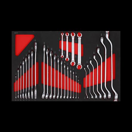 603101 | Sonic Sleutelset 31-dlg. (SAE) SFS