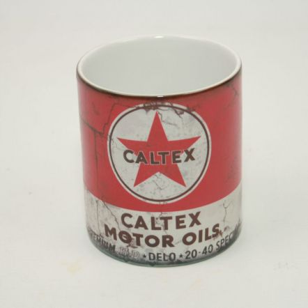 Caltex Motor Oil 11OZ Mok