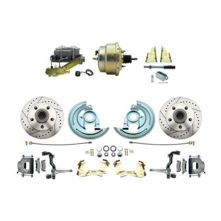 MBM 1964-1972 GM A Body Front Power Disc Brake Conversion Kit