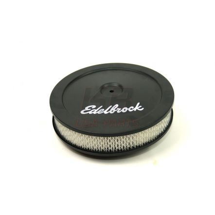 Edelbrock 1203 10x2 inch lucht-fliter zwart