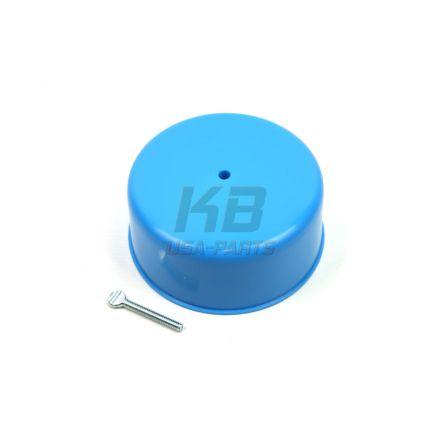 RPC R-2012 Carburator Cover 4bbl Blue Plastic